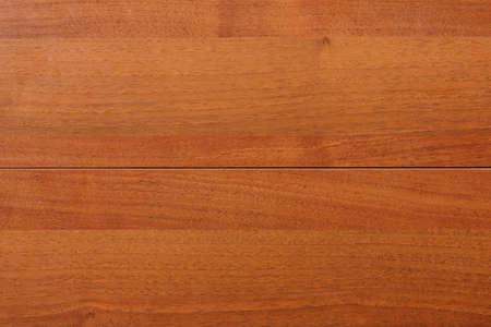 planck: Wood teak texture background. Horizontal stripe, closeup Stock Photo