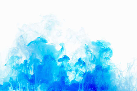 abstract background color ink drop in water motion swirling