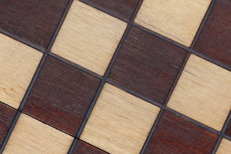 Chess board isolated vintage background close up
