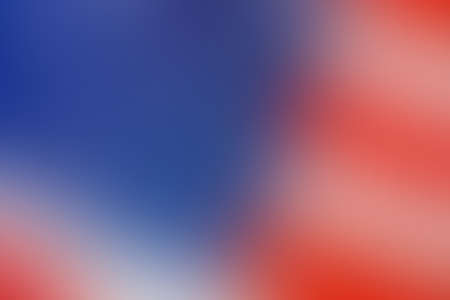 Gradient background united states, flag, colors, holiday, July 4, USA, blur smooth soft wallpaper abstract with copy space