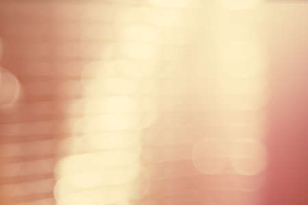 abstract blur of city lighting digital lens flare glare, blinds light shadow background Stock Photo