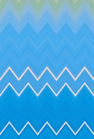 Chevron zigzag blue sky pattern abstract art background, color trends Stock Photo
