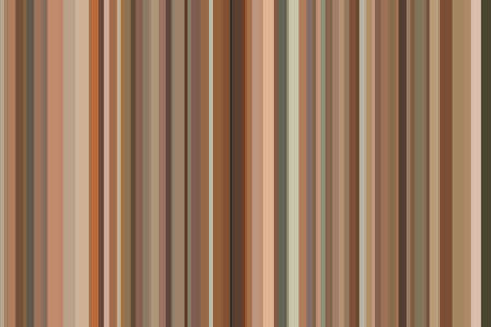 Brown coffee bronze copper seamless stripes pattern. Abstract illustration background. Stylish modern trend colors backdrop.