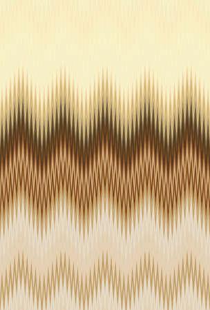 Chevron gold metal golden bronze zigzag wave pattern abstract art background, color trends