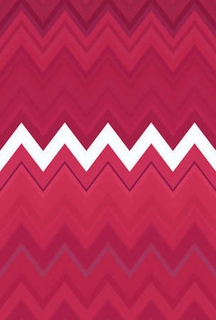 Chevron zigzag purple lilac magenta pink pattern abstract art background, color trends Stock Photo