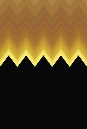 Chevron zigzag sunshine sun yellow pattern abstract art background, color trends