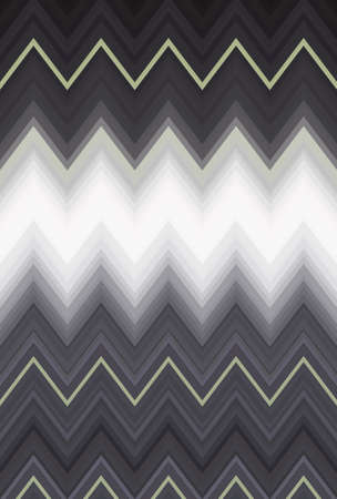 Chevron zigzag pattern abstract art background, color trends. Movement car light twilight, dramatic tone. Abstract rays colorful beam pattern. Stylish illustration modern