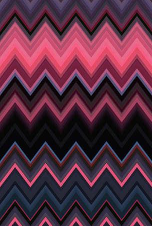 Chevron zigzag purple lilac magenta pink pattern abstract art background, color trends Reklamní fotografie
