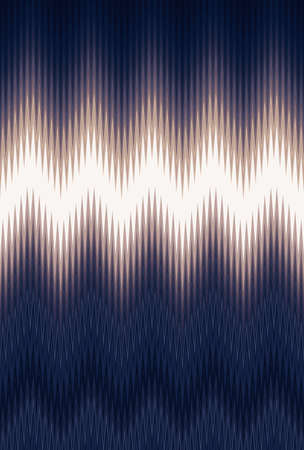 Chevron zigzag wave pattern abstract art background, color trends. Movement car light twilight. Abstract rays colorful stripes beam pattern. Stylish illustration modern
