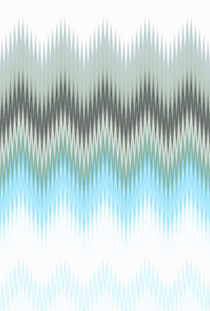 Chevron zigzag wave gray blue pattern abstract art background, color trends Stock Photo