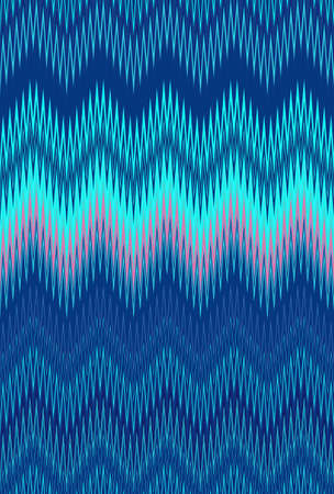 Ocean, sea aquamarine, turquoise seamless, Chevron zigzag wave pattern abstract art background, color trends Imagens