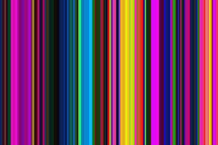 Retro psychedelic multicolored colorful seamless stripes pattern. Abstract illustration background. Stylish modern trend colors backdrop.