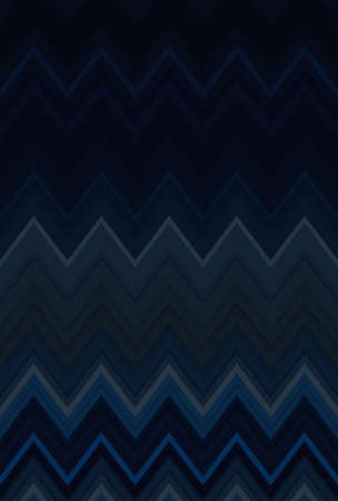Chevron zigzag blue dark pattern abstract art background, color trends