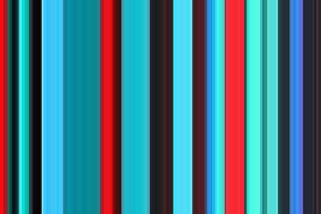 Retro psychedelic multicolored colorful seamless stripes pattern. Abstract illustration background. Stylish modern trend colors backdrop. Stock Illustration - 107270109