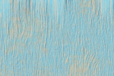 Painted plain blue and rustic wood board background tinted. Stock Photo