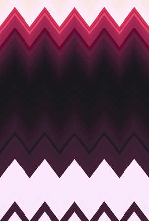 Chevron zigzag purple lilac magenta pink pattern abstract art background, color trends Archivio Fotografico
