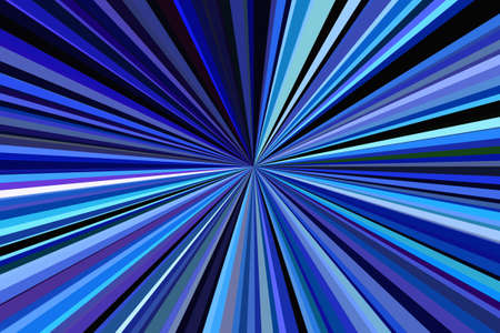 Dark Blue sky color night club rays of light abstract background. Stripes beam pattern. Stylish illustration modern trend colors backdrop. Stock Photo