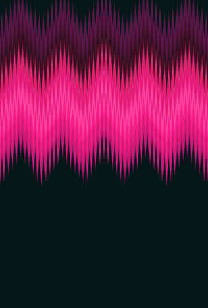 Chevron zigzag wave purple lilac magenta pink pattern abstract art background, color trends Reklamní fotografie