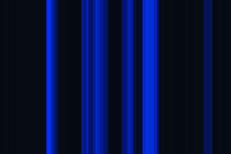 Blue dark colorful seamless stripes pattern. Abstract illustration background. Stylish modern trend colors backdrop. Stock Photo