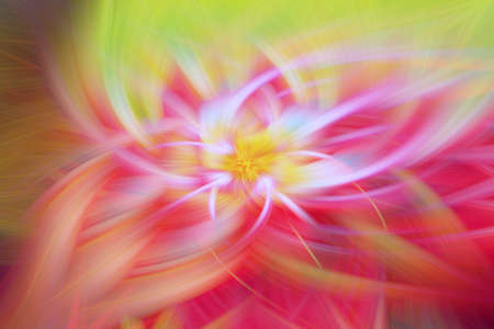 floral fractal background prominence art illustration energy. inferno scifi. Stock Photo