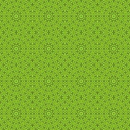 green pattern background symmetry kaleidoscope geometric texture. backdrop. Stock Photo