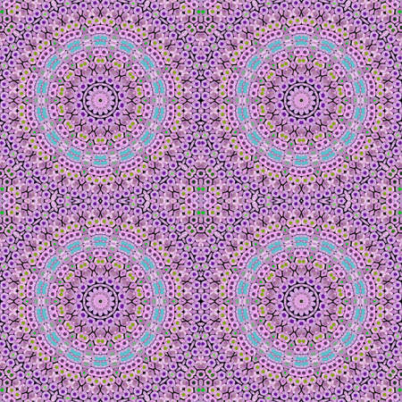 kaleidoscope purple geometric pattern abstract background colorful. art decoration.