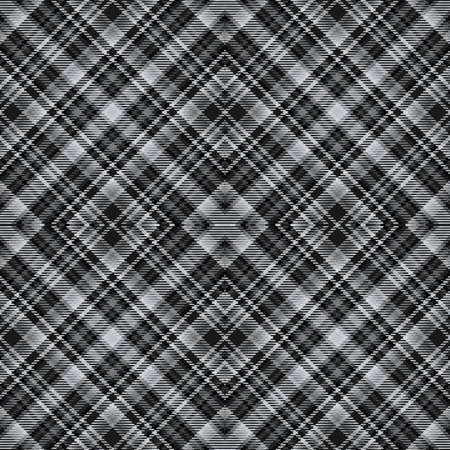 Background tartan, seamless abstract pattern with diagonal lines, decoration texture. Reklamní fotografie