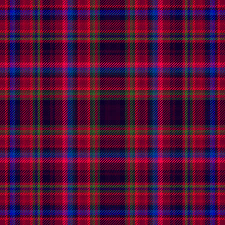 Tartan plaid and scotland design fabric, pattern seamless, irish