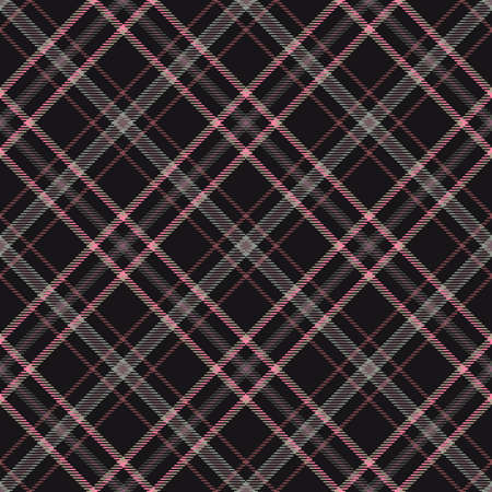 Tartan pattern, diagonal fabric background for plaid abstract,  texture fashion. 写真素材