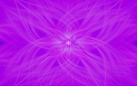 neon glow geometric pattern violet background fractal. texture decor.