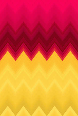 chevron zigzag pattern background abstract art yellow. backdrop trends. Stock Photo