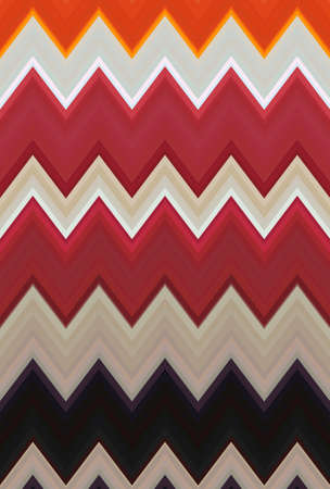 chevron zigzag pattern background abstract art texture. backdrop mosaic. Stock Photo