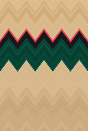 chevron zigzag pattern background abstract art texture. ornament. Stock Photo