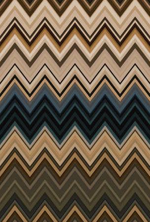 brown coffee bronze chevron zigzag pattern background. wallpaper decoration.