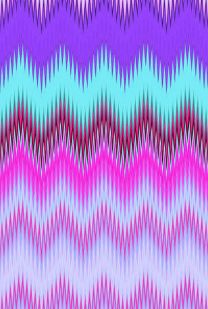 psychedelic hallucination hallucinogenic chevron zigzag pattern background. geometric. Stock Photo