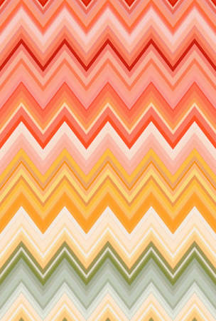 chevron zigzag pattern background abstract rainbow red. diet. Stock Photo - 119203150