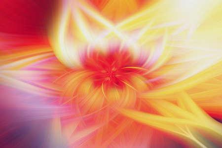floral fractal background prominence art illustration energy. pattern. Stock fotó