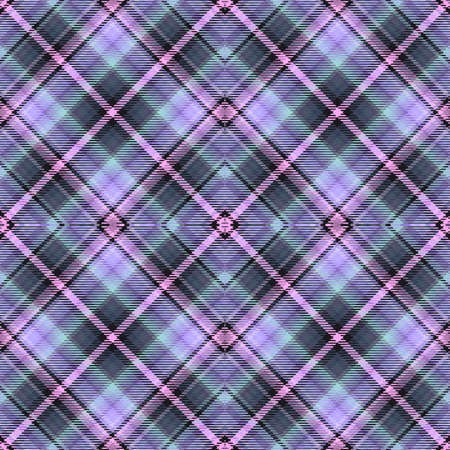 Background tartan, seamless abstract pattern with diagonal lines,  textile irish.