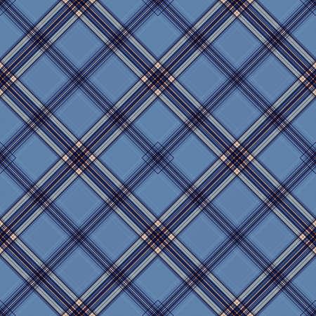 Motivo scozzese di sfondo con tessuto diagonale astratto scozzese senza cuciture, tradizionale irlandese.