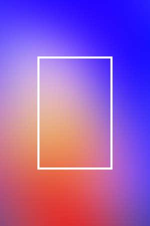 Background blur gradient frame abstract light smooth,  design presentation. Stock Photo