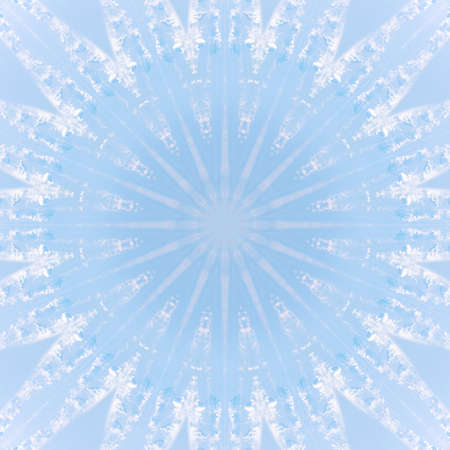blue cloud sky kaleidoscope pattern texture atmosphere. cloudscape background.