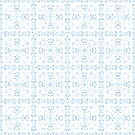 abstract blue ice pattern symmetry background design. ornament wallpaper.