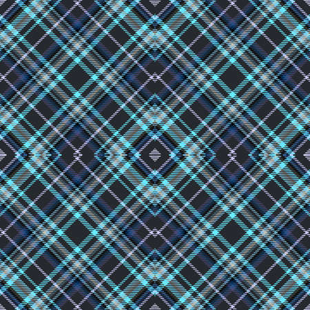 Tartan pattern, diagonal fabric background for plaid abstract,  textile seamless.