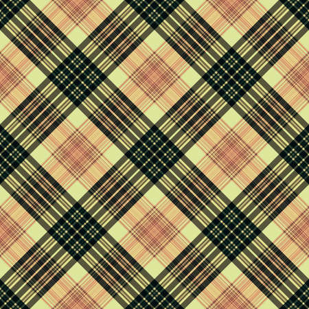 Stripes background, square lines tartan, rectangle diagonal pattern seamless,  grid english. Imagens