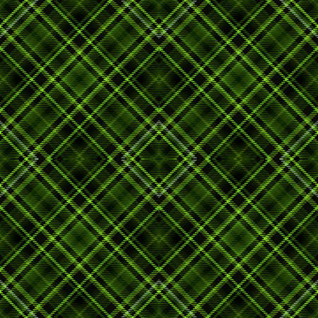 Background tartan, seamless abstract pattern with diagonal lines,  fashion scottish. Standard-Bild - 121323410