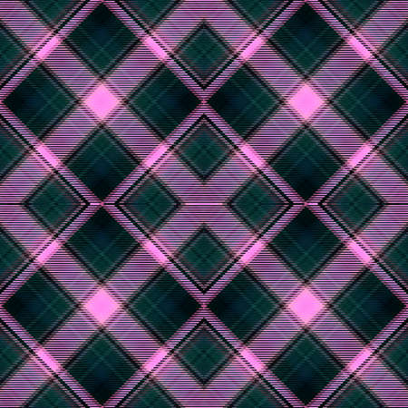 Background tartan, seamless abstract pattern with diagonal lines,  plaid design.