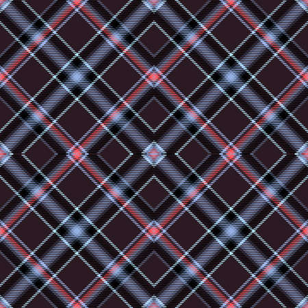 Background tartan, seamless abstract pattern with diagonal lines,  fashion english.