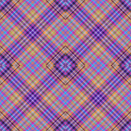Background tartan, seamless abstract pattern with diagonal lines,  fashion scotland. Stock Photo