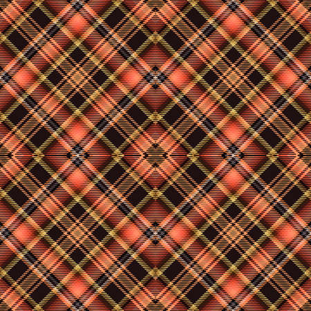 Background tartan, seamless abstract pattern with diagonal lines,  scotland cell.