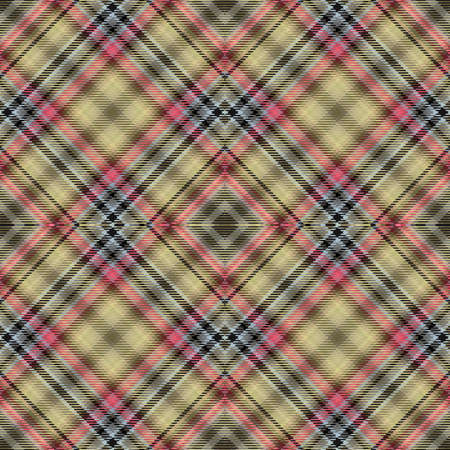 Background tartan, seamless abstract pattern with diagonal lines,  decoration celtic.